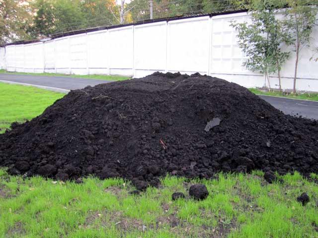 плодородный грунт земля с доставкой