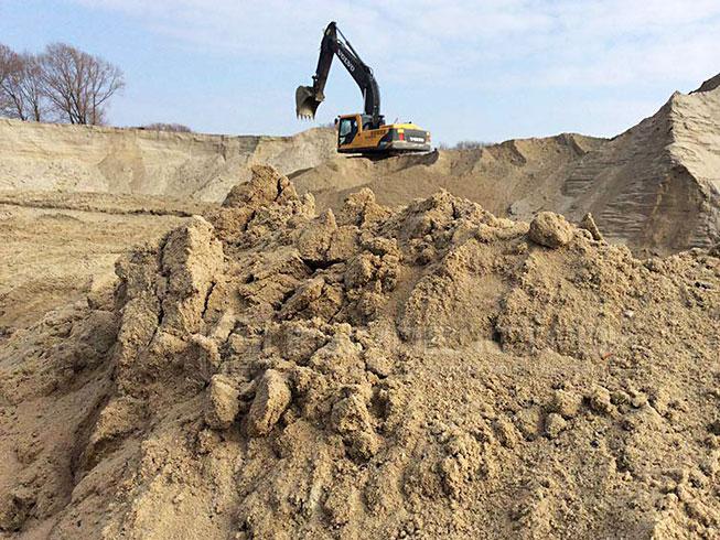 песок речной в Ярославле