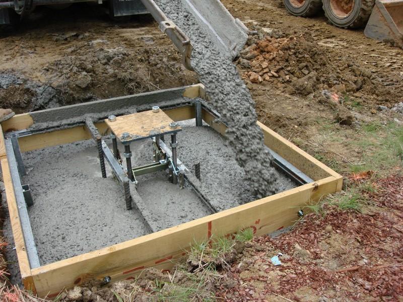 бетон тяжелый м200 для опорных колонн