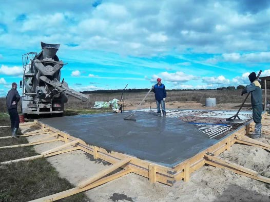 заливка бетона в22,5 м300 гост