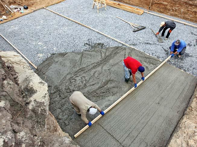 бетон класс в7 5 м100 под фундамент