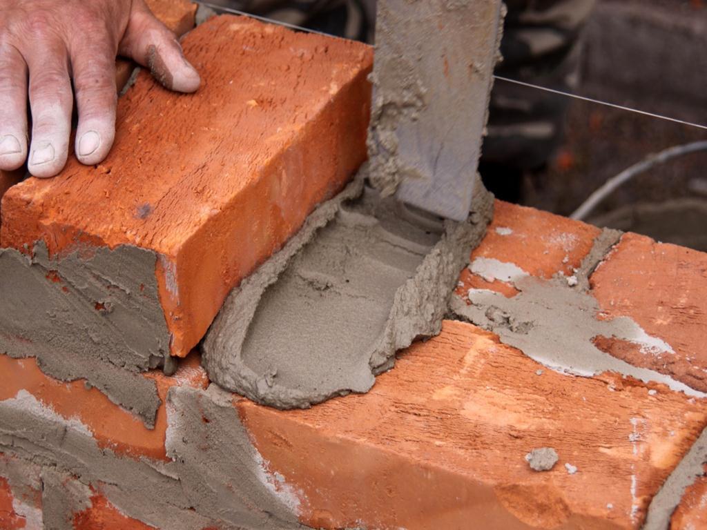 готовый цементный раствор для кладки