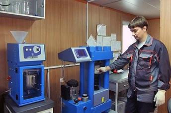 Лаборатория по испытанию бетона в Ярославле