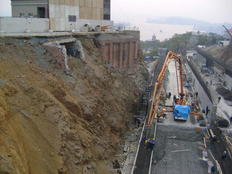 заливка бетона м400 класс В35
